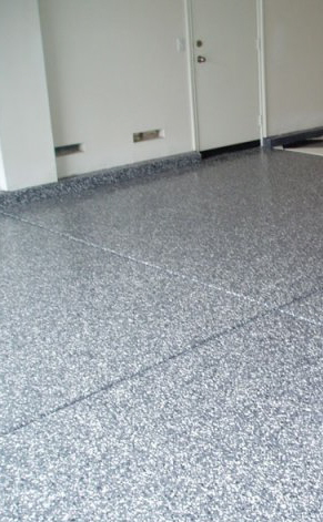 Lovely Ampro Services, Inc.   EPOXY/POLYUREAPREMIUM QUALITY GARAGE FLOOR SYSTEM